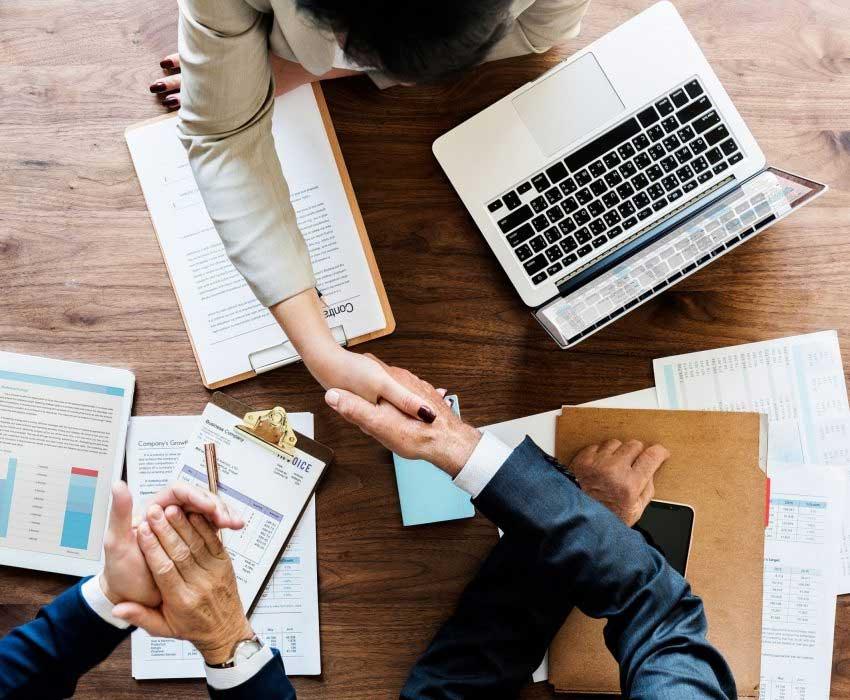 Handshake - Trade Secrets | Loeffler IP Group - Southwest Florida Intellectual Property Lawyers